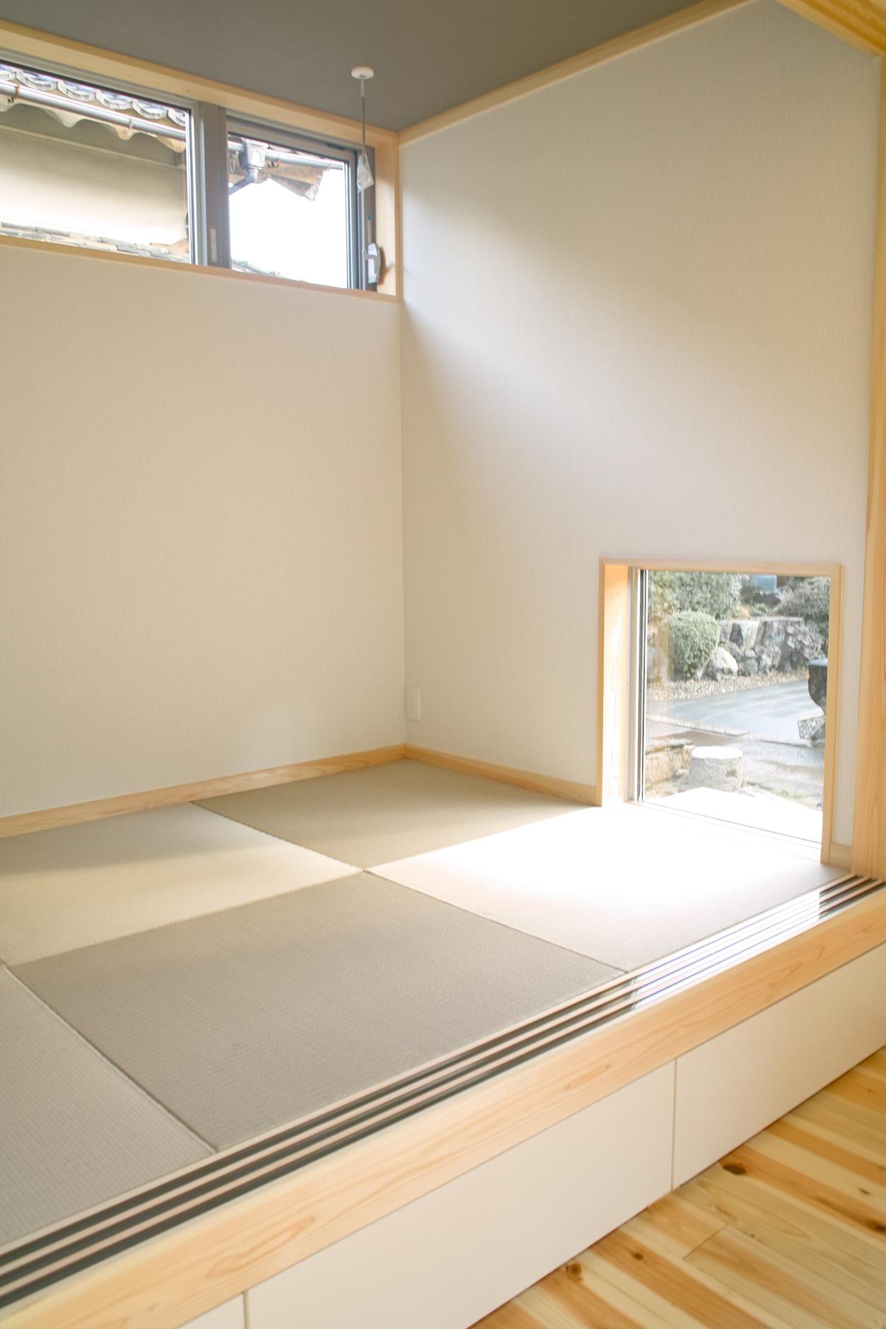 縁なし畳(琉球畳)の小上がり