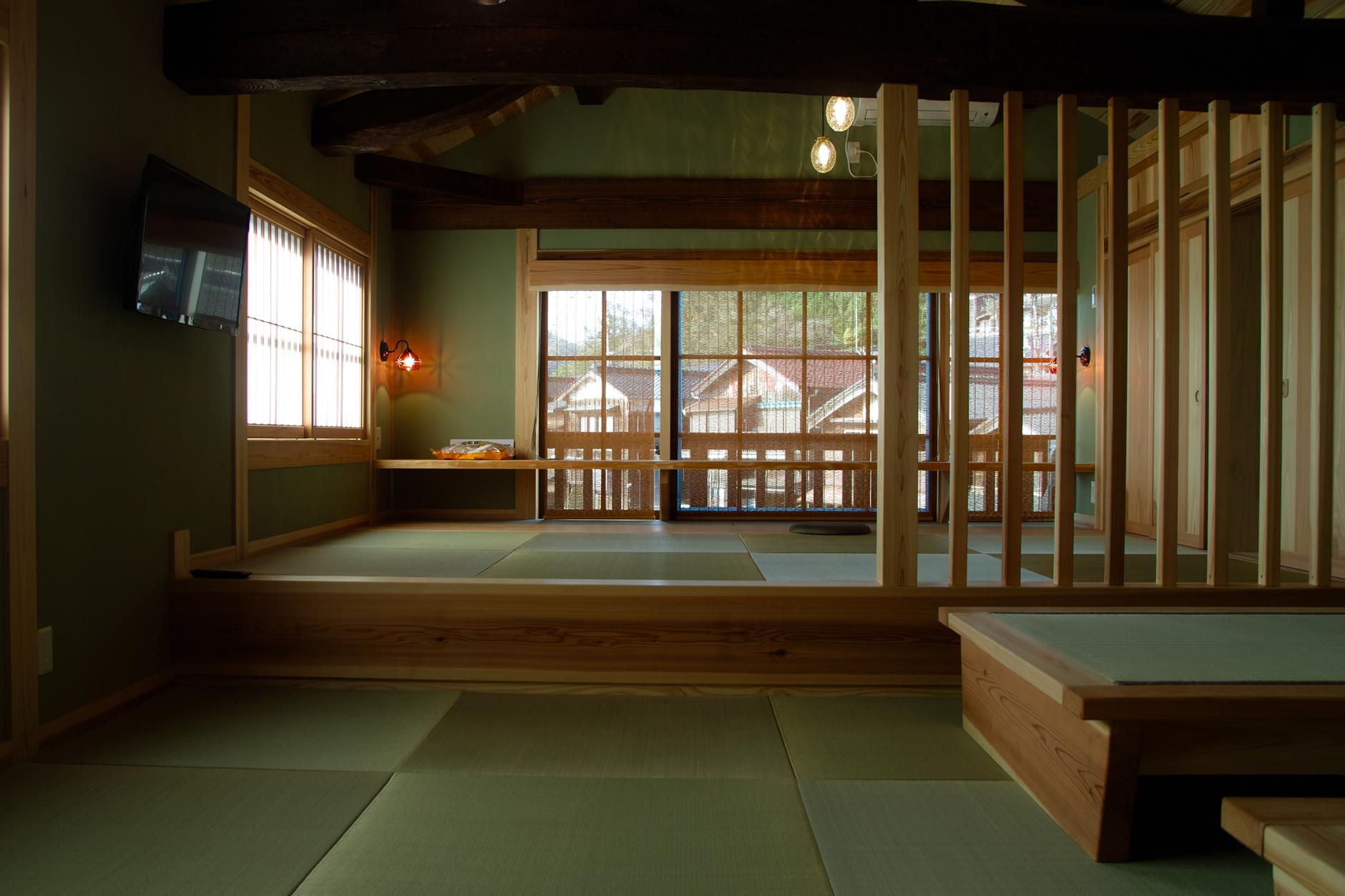 縁なし畳(琉球畳)づくしの部屋
