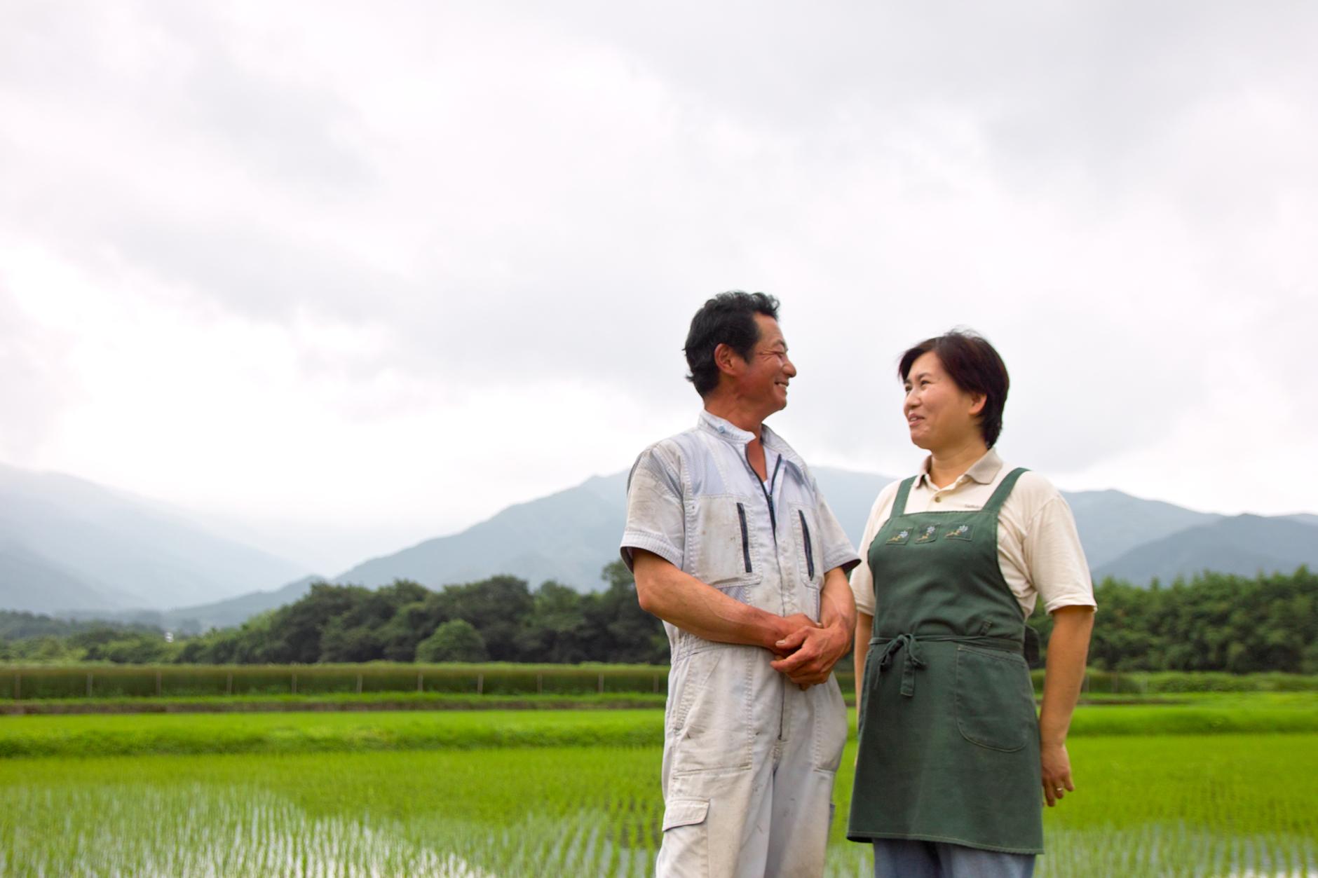 い草農家の田中弘幸さん